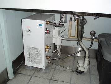 電気給湯器交換 後