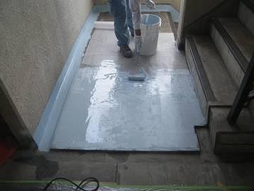 防水塗装 中 1