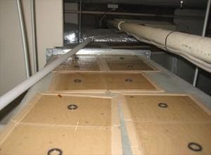 中2階更衣室トラップ固形殺鼠剤①ネズミ